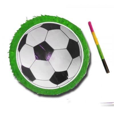 פיניאטה עבור שולחן יום הולדת כדורגל