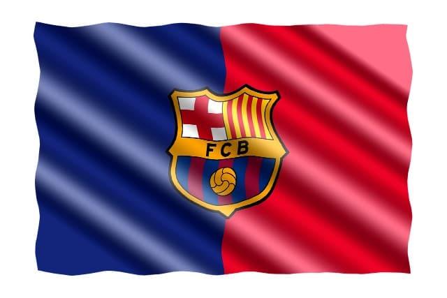דגל ליום הולדת ברצלונה