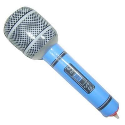 מיקרופון מתנפח גדול