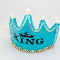 כתר אורות עם הכיתוב מלך