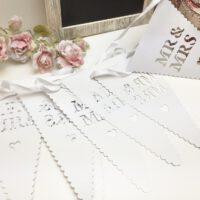 שלטים של מר וגברת אביזרים לחתונה