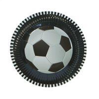 צלחות קטנות כדורגל