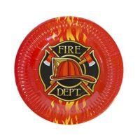 צלחות קטנות מכבי האש