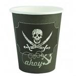 כוסות נייר עבור יום הולדת פיראטים