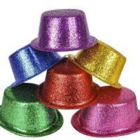 כובע גליטר נצנצים למסיבות