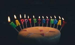 תמונה של עוגה בחגיגת יום הולדת 11