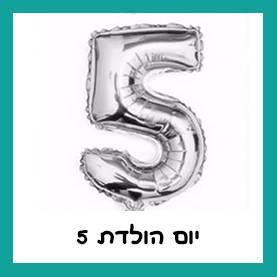 יום הולדת 5